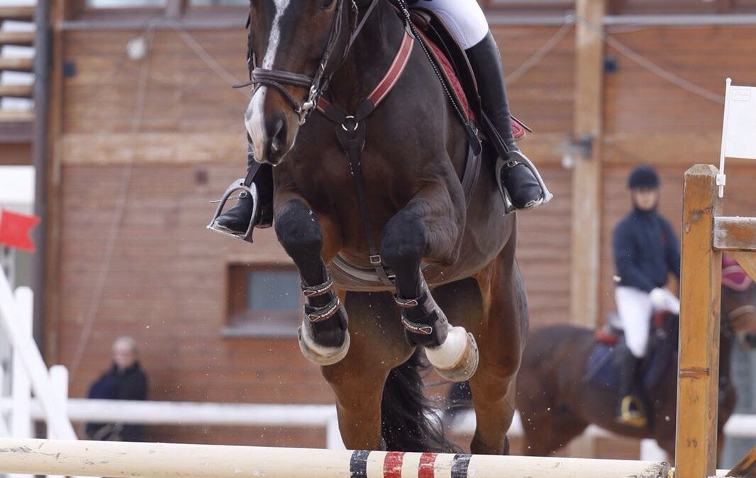 Sawoir di Fonteabeti ai Campionati Italiani di Salto Ostacoli